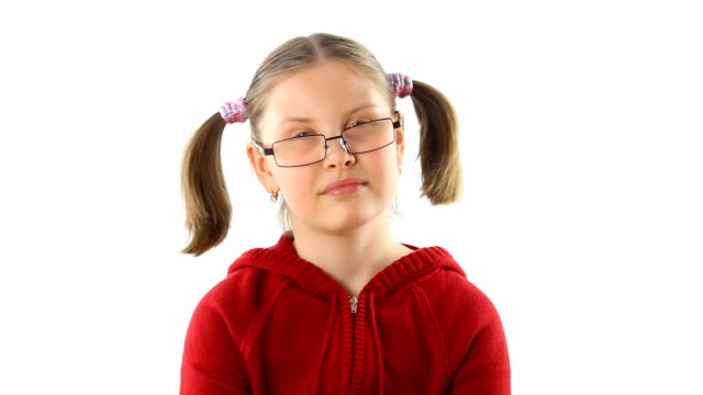 Teeager girl spreading gossips video