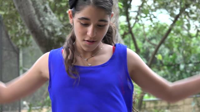 Teen Girl Dancing HipHop video