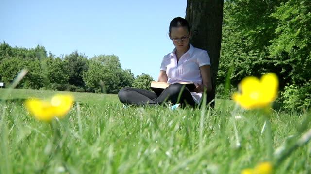 Teen reading video