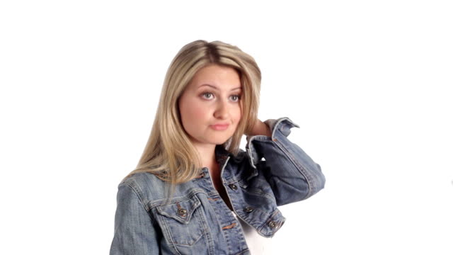 Blonde teen videos 439 Blonde Teen White Background Stock Videos And Royalty Free Footage Istock