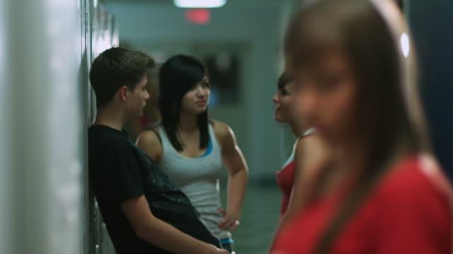 Teenage Girl Gets Picked On  locker stock videos & royalty-free footage