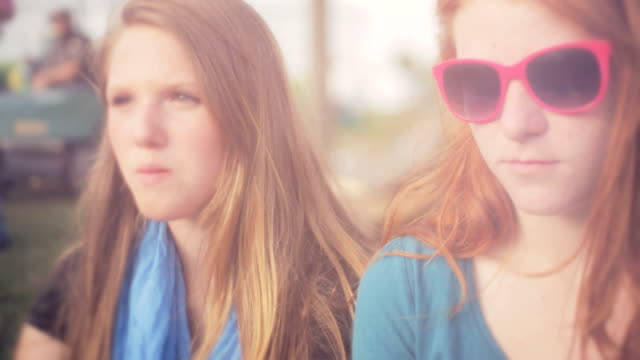 Teens At Concert video