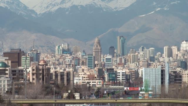 德黑蘭城市景觀 - 德黑蘭 個影片檔及 b 捲影像