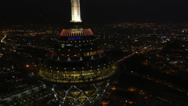 德黑蘭米拉德塔在夜間 - 德黑蘭 個影片檔及 b 捲影像