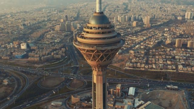 德黑蘭米拉德大廈 - 德黑蘭 個影片檔及 b 捲影像