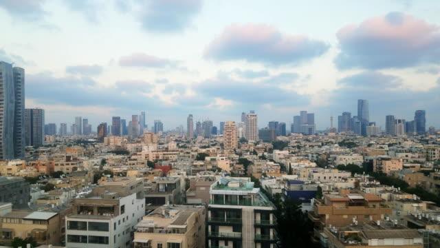 Tel Aviv rooftops and skyline