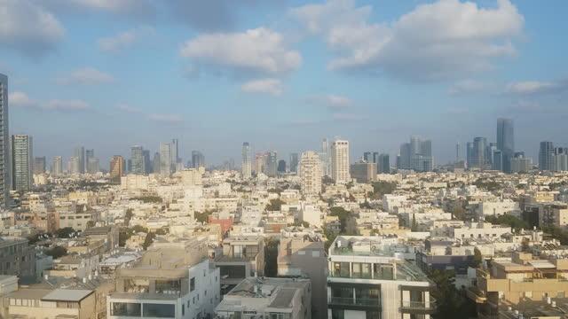 Tel Aviv rooftops, Israel.