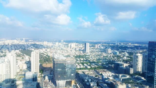 Tel Aviv Skyline - aerial view