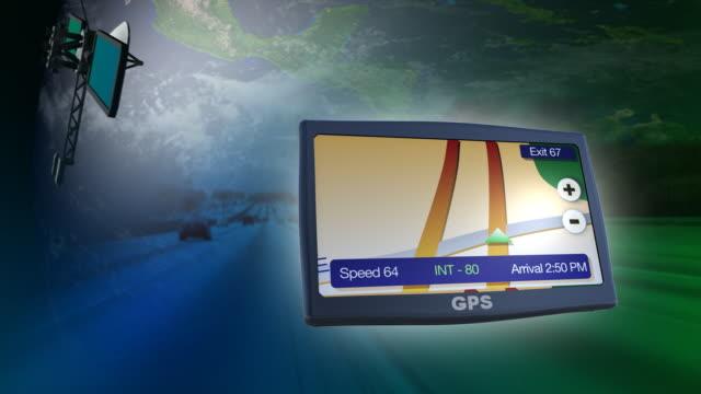 GPS telecom concept video