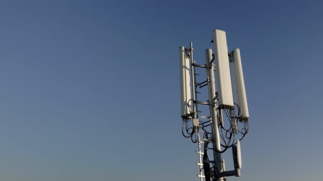Telecommunication Tower Antenna - video
