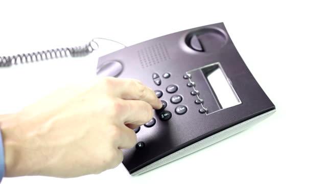 Telephone - Making a call video