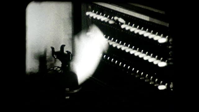 電話交換機 - 古風点の映像素材/bロール