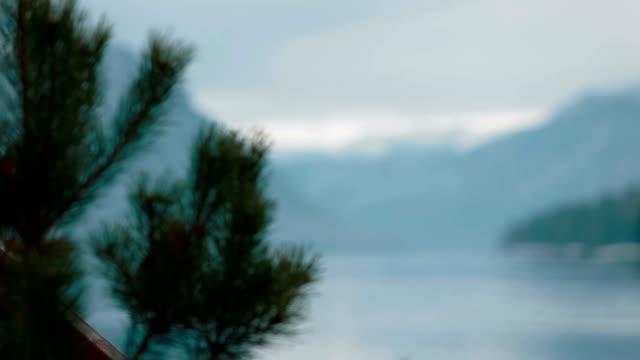 teletskoe 湖と山々 - シベリア点の映像素材/bロール