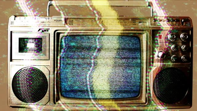 television ghettoblaster video