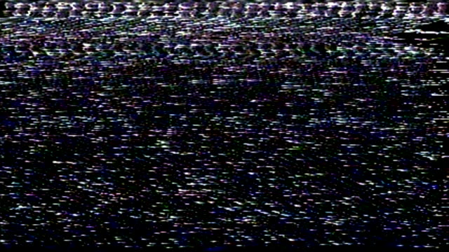Television Static Noise / Very Bad Tracking TV static noise sample - Black and white / No audio electrical equipment stock videos & royalty-free footage