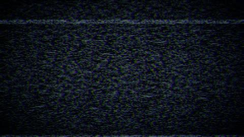 television static with sound - fotoğraf efektleri stok videoları ve detay görüntü çekimi