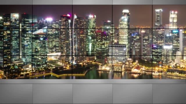 4к Television studio background