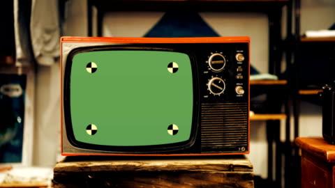 vidéos et rushes de la télévision - vintage