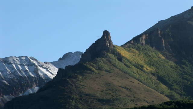 Telluride cliff and countryside