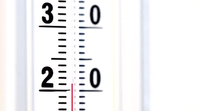 vidéos et rushes de la température échauffement - canicule