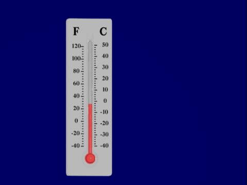vidéos et rushes de la température montante - température