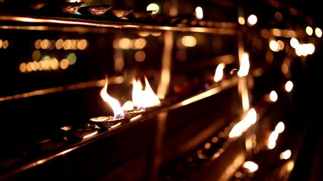 Temple candleholders video