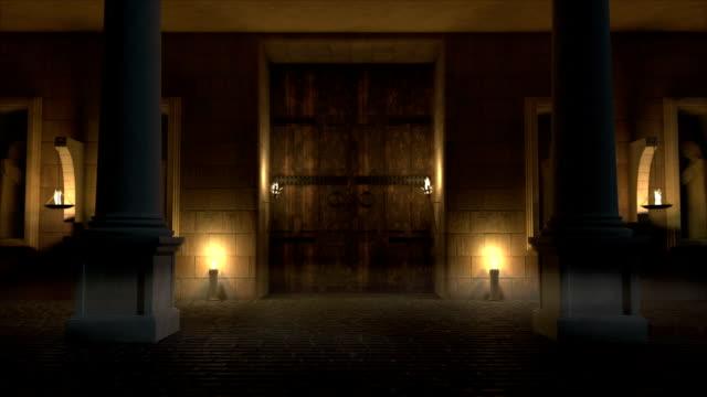 vídeos de stock, filmes e b-roll de exterior do templo - castelo