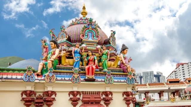 templet i singapore - india statue bildbanksvideor och videomaterial från bakom kulisserna