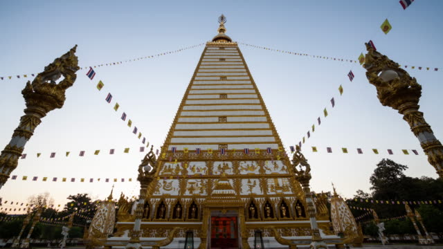 Temple in Ubon Ratchathani Thailand. video