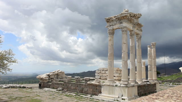 Temple of Trajan at Pergamos video