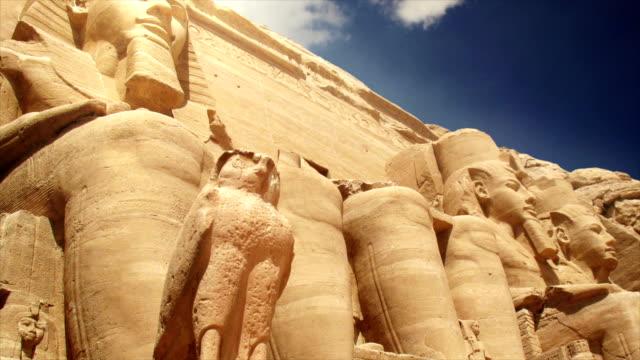 temples of abu simbel egypt - египет стоковые видео и кадры b-roll