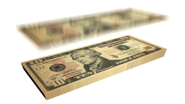 Ten Dollar Bills - Falling From Heaven video