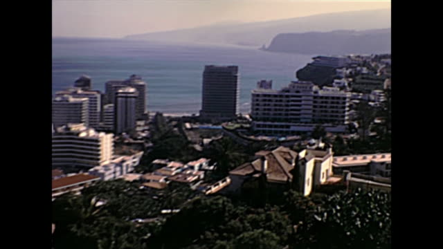 Tenerife Teide mountain aerial view