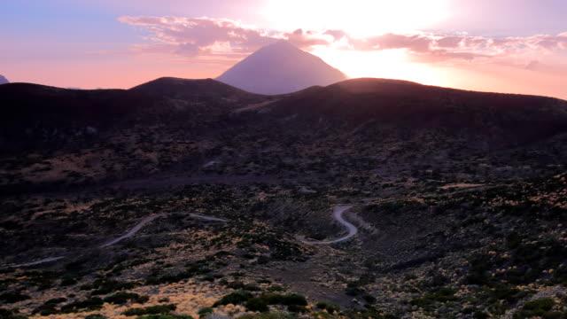 Tenerife's Teide National Park Time lapse