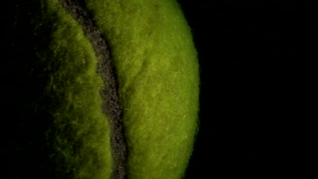 Tennis ball dramatic background - HD video