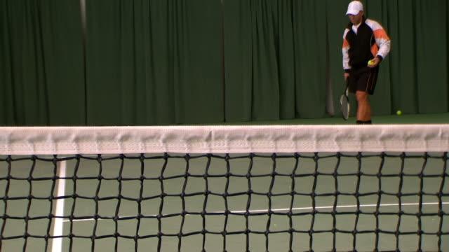 Tennis net video