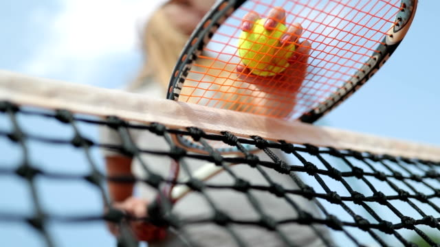 stockvideo's en b-roll-footage met tennisser - tennis