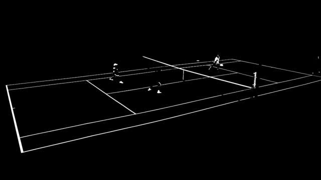 Tennis Pong video