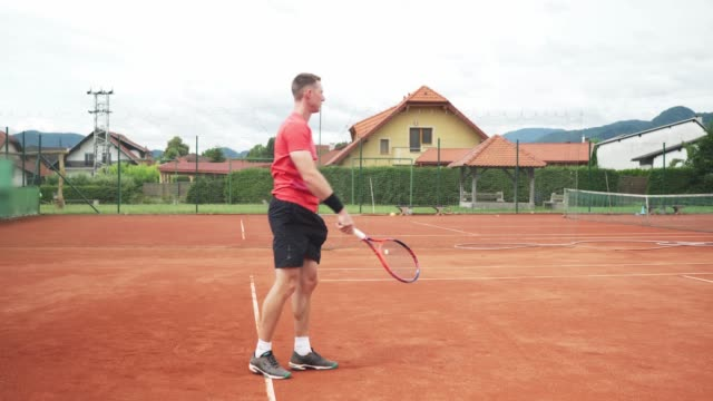 tennis serve - tennis player - target australia stock videos & royalty-free footage