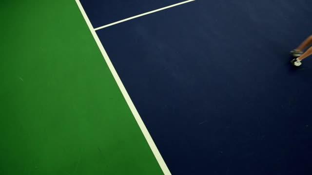 Tennis Serving video