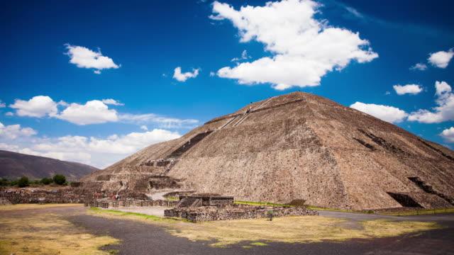 TIME LAPSE: Teotihuacan Sun Pyramid video