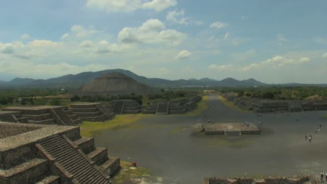 Teotihuacan time lapse near Mexico City
