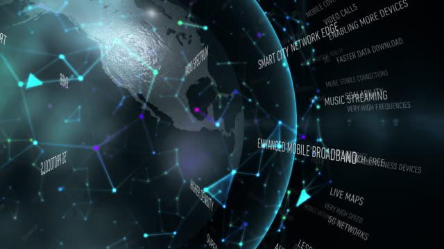 vídeos y material grabado en eventos de stock de términos de 5g - equipo informático