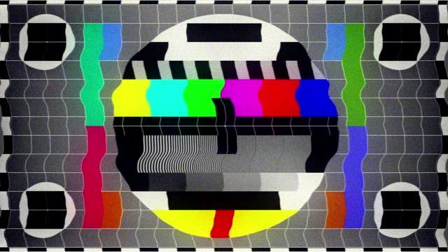 тв тест-(петли - проблемы стоковые видео и кадры b-roll