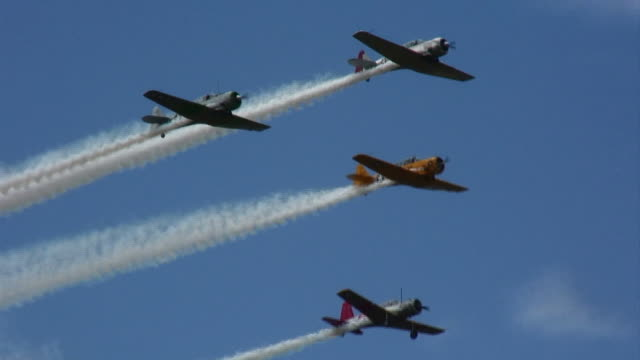 T-6 Texan Formation 60_2 video