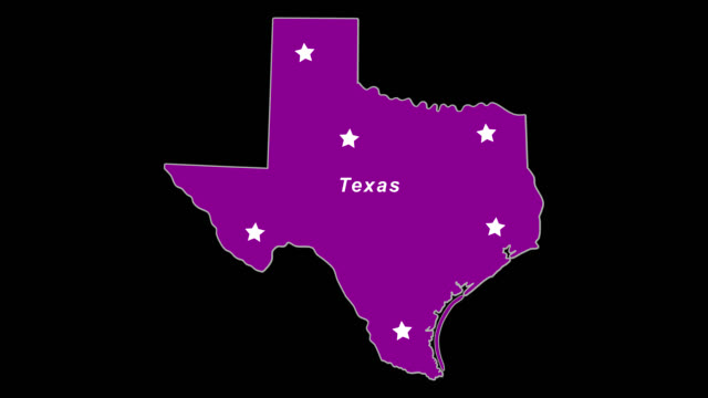 Purple State Map.Texas As Purple State Election Map Stock Video More Clips Of 4k