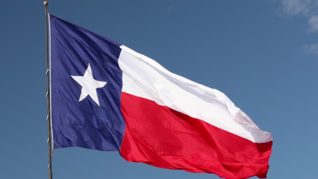 stockvideo's en b-roll-footage met vlag van texas - texas