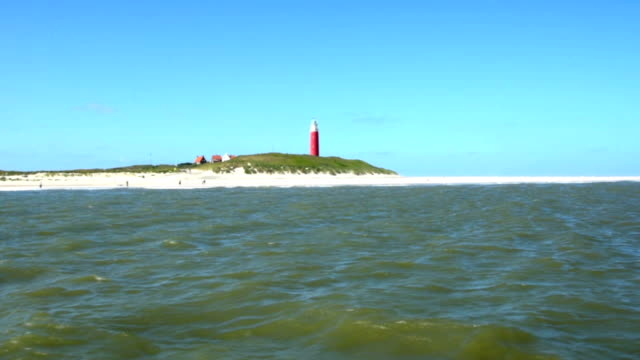 Texel Island on North Sea Netherlands video