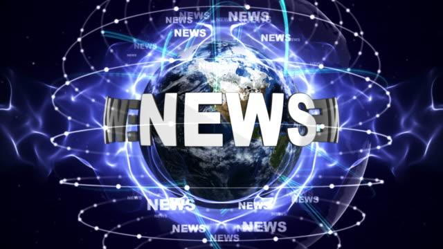 nyheter textanimering och jorden, loop - paper mass bildbanksvideor och videomaterial från bakom kulisserna