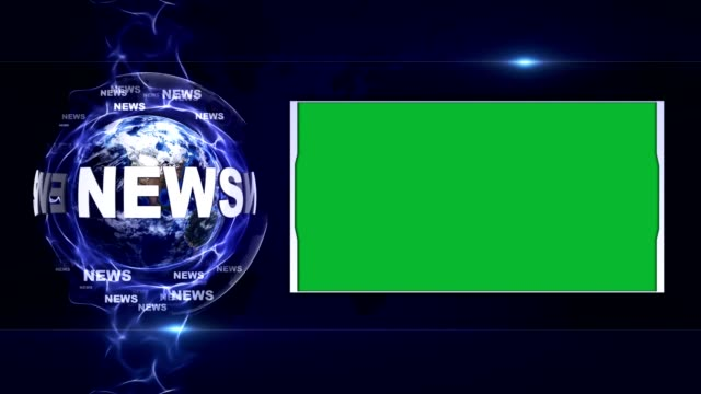 nyheter textanimering och jorden, rendering bakgrund, med grön skärm, slinga - paper mass bildbanksvideor och videomaterial från bakom kulisserna